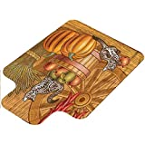 Alfombra para silla de cosecha de alfombras, rústica barnyard Kitten 91,4 x 121,9 cm con alfombrilla de labios de pie, antifatiga y comodidad