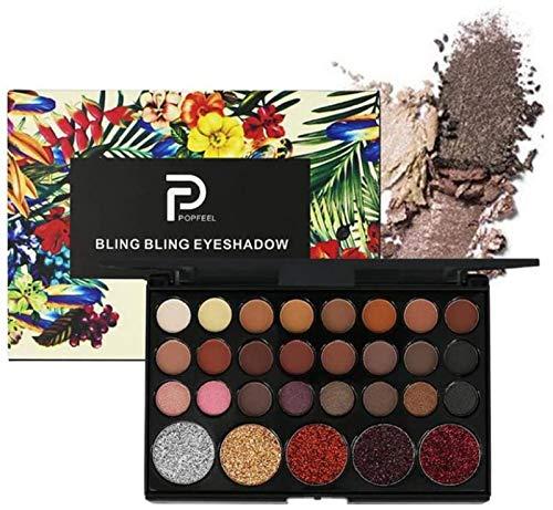 ZHANG Paleta De Sombras De Ojos Altamente Pigmentadas De 29 Colores Kit De Maquillaje De Sombras De Ojos Profesional Paleta Profesional Brillo De Ojos Mate Y Brillante