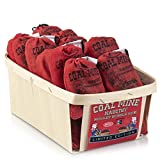 Old Fashioned Bubble Gum Candy: Fruit Flavor Chewing Gum in Individual Drawstring Bags by Espeez - Vintage Bulk Candy Packs for Parties and Special Events - Coal Mine Nugget Gum - 24 Bags
