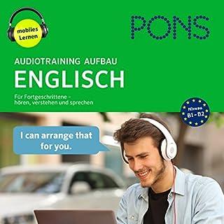 PONS Audiotraining Aufbau Englisch Titelbild