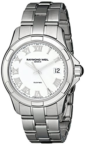 Raymond Weil Men's 2970-ST-00308 Parsifal Analog Display Swiss Automatic Silver Watch