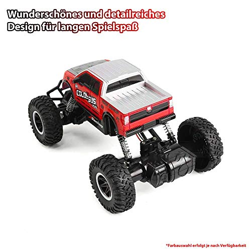 RC Auto kaufen Monstertruck Bild 2: Aandyou Ferngesteuertes Auto, 2,4Hz RC-Auto 4WD Elektronischer Geländewagen,Funkgesteuertes Auto Monster Truck Off-Road-Auto*