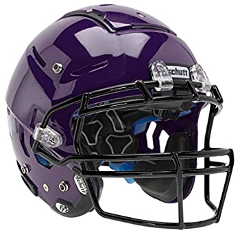 Schutt Sports F7 LX1 Youth Football Helmet  Facemask NOT Included  Purple Large