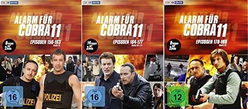 Alarm für Cobra 11 - Staffel 19+20/21+22 im Set - Deutsche Originalware [7 DVDs]