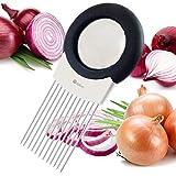 ORBLUE Forchetta per cipolla, antiodore e affettatrice all-in-one