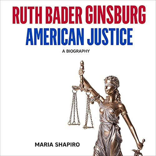 Couverture de Ruth Bader Ginsburg American Justice