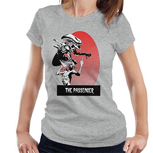 The Passenger Red Alien Iggy Pop T-shirt voor dames