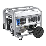 Hyundai HG8750 Electric Start Portable Gas Powered Generator, 7000 Running Watts/8750 Peak Watts