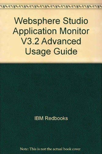 Websphere Studio Application Monitor V3.2 Advanced Usage Guide