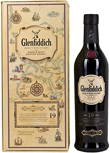 Glenfiddich 19 Year Old Age of Discovery Maderia Cask Finish Single Malt