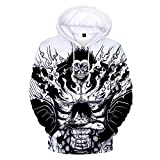 YJXDBABY-One Piece-Unisex 3D Sweater, Men's Funny Print Pullover, Children's Casual Sweater Party Jacket, Polo Shirt-L