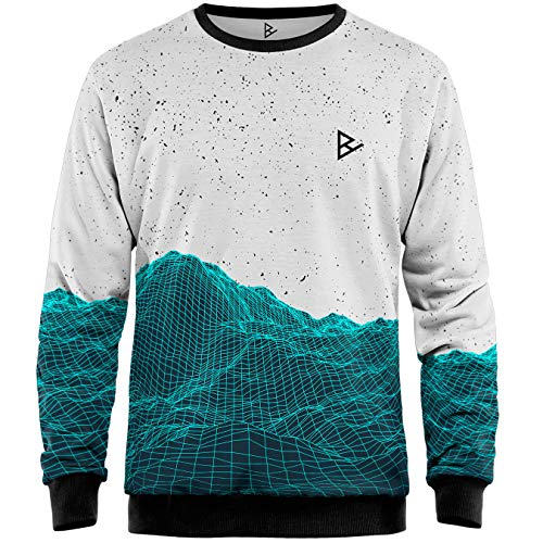 Blowhammer - Sweat-Shirt Homme - Planimetric Mountain - M