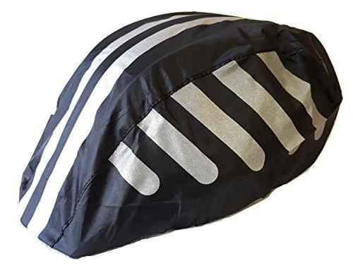 everest1953 Regenschutzhaube one Size Fahrradhelm Raincover Regenüberzug Helmüberzug Regen schwarz