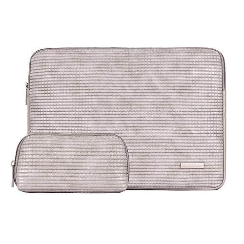 Laptop Sleeve, PU Thickest Lightest Wasserdicht Schutzhülle Für 13-15 Zoll Ultrabook Tablet Cover Case,14inch