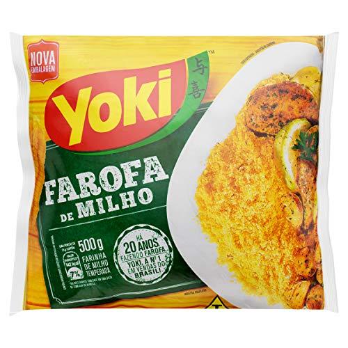 Yoki Farofa De Milho Getreidemehl, 500 g