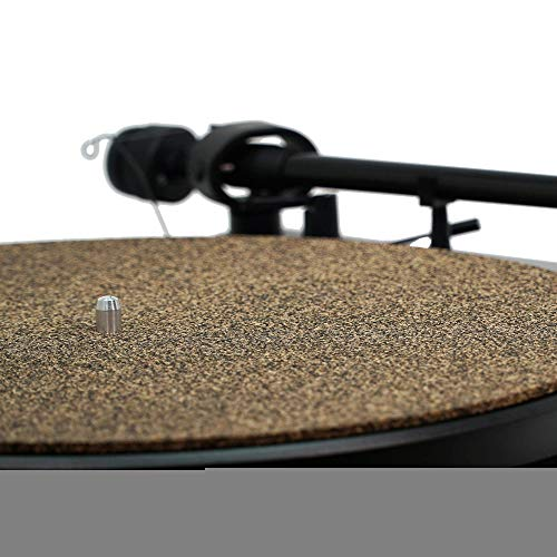 CORKery Cork N Rubber - Turntable Platter Mat - 1-16' - Audiophile Slipmat for Vinyl Records