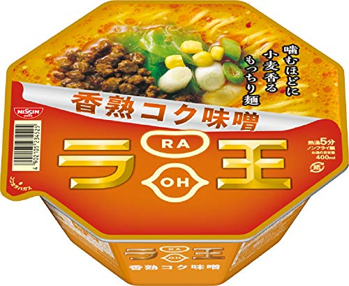 2位:日清食品『ラ王香熟コク味噌』