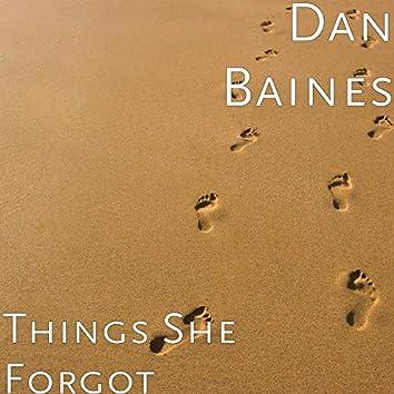 Things She Forgot