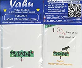 Yahu Model 1:72 A5M4 Color Instrument Panel for Fujimi/Hobby Boss #YMA7277