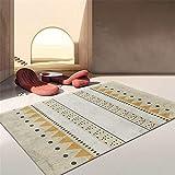 Alfombras Niño alfonbras de Salon Grandes Alfombra Rectangular para Dormitorio, diseño de Pelo Corto, Duradera y Lavable alfonbras de dormitorios 160X230CM