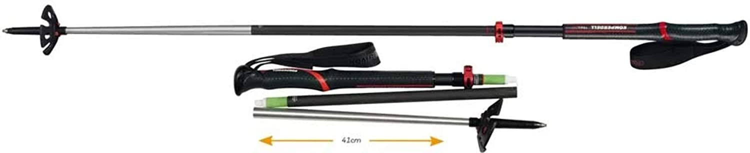 Komperdell Carbon Expedition OFFicial store Tour Selling and selling 4 Poles - Trekking Compact 105