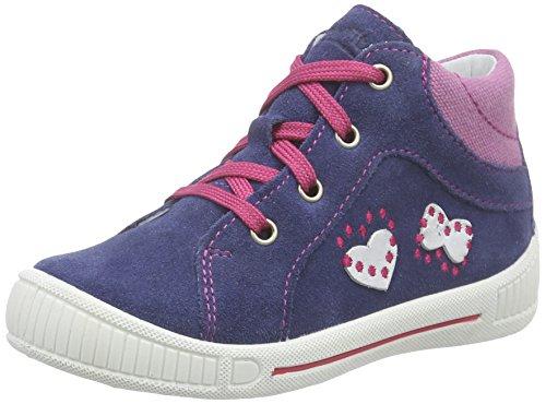 Superfit COOLY 600042 Baby Mädchen Lauflernschuhe Sneaker, Blau (INDIGO KOMBI 88), 20 EU