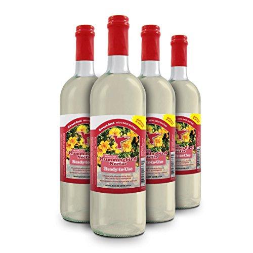 Sweet-Seed Sweet-Nectar Premium Hummingbird Food All-Natural & Dye Free Premium Hummingbird Nectar Ready-to-Use Formula