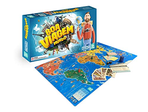 Jogo De Tabuleiro Boa Viagem Mundo - Nig
