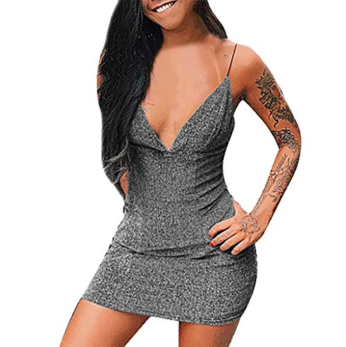Vectry Vestidos Coctel Vestido para Boda De Día Vestidos De Fiesta Cortos Elegantes para Bodas Vestidos Sexys Y Elegantes Vestidos Mujer Verano 2019 Casual Vestido De Verano Mujer