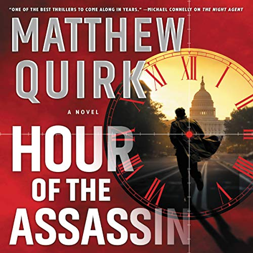 Hour of the Assassin audiobook cover art