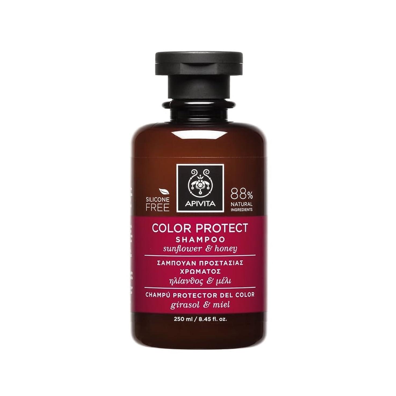 状態大きさシェトランド諸島アピヴィータ Color Protect Shampoo with Sunflower & Honey (For Colored Hair) 250ml [並行輸入品]