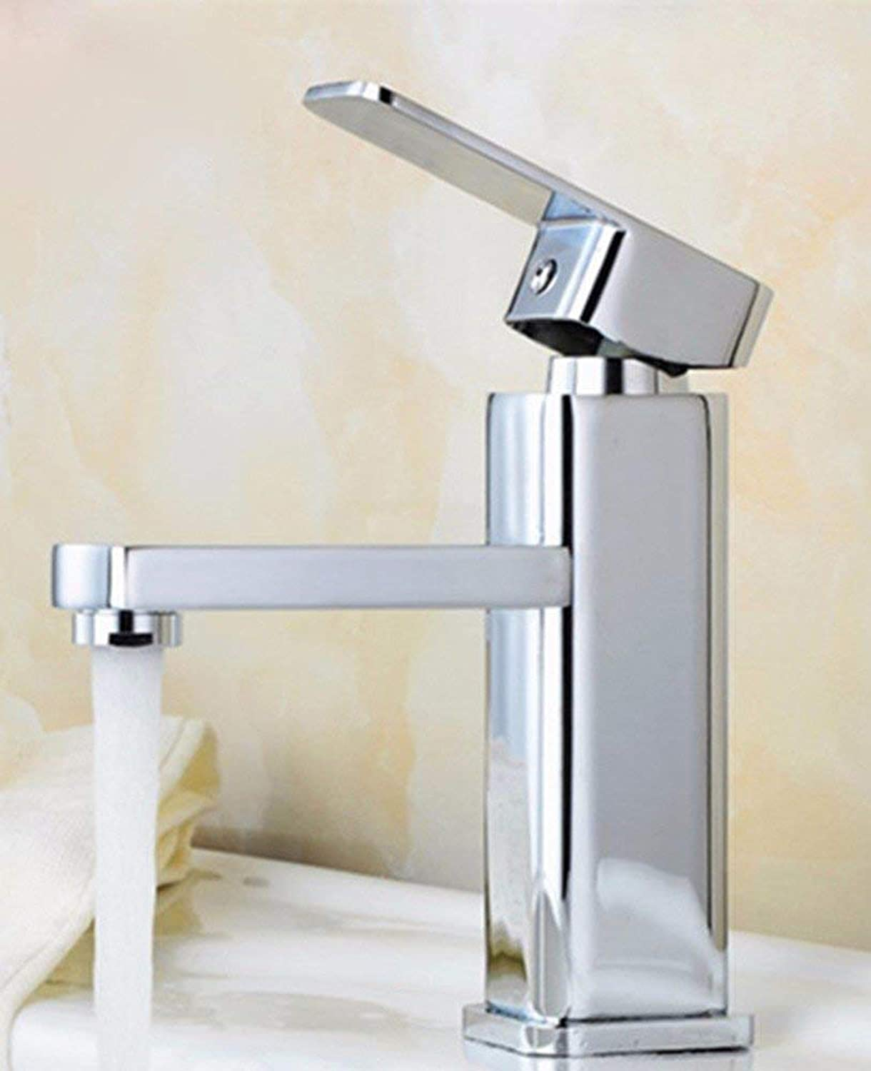 Oudan All Copper Hot And Cold Stainless Steel Sink Faucet