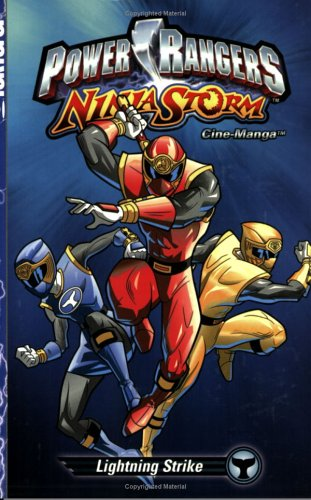 Power Rangers Ninja Storm Cine-Manga: Lightning Strikes