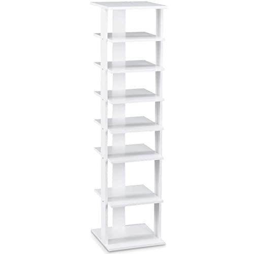 White Wood Shoe Rack Amazon Co Uk