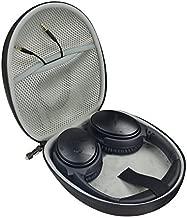 Tan Protective Case for Plantronics Backbeat Sense SE, FIT 500; Sony MDR-XB950BT, XB950N1, XB650BT; Bose QC35, QC25, QC2, QC15, QC3; JBL E45BT, E55BT, mesh Accessory Pocket, Water Resistant Zip