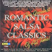 Vol. 1-Greatest Romantic Salsa