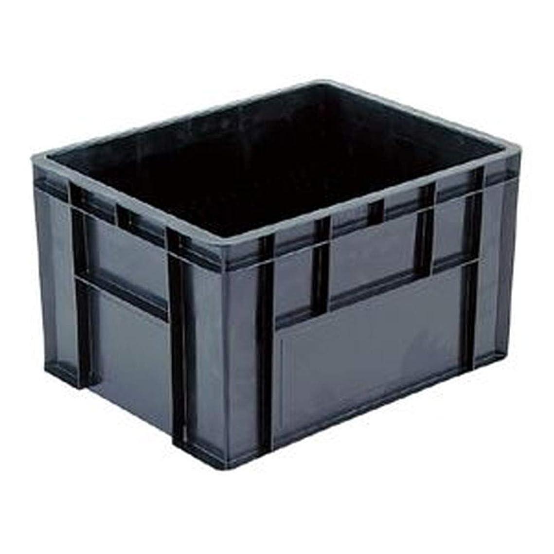 雄弁なうめき骨== 業務用5個セット == 三甲 - サンコー - / 導電性コンテナボックス/テンバコ / - 76.3L - / 段積み可/ED-76M / ブラック - 黒 - - -