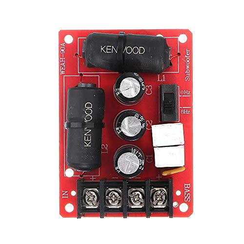 DIY 200W Audio Speaker frequentiedeler Module Subwoofer Crossover Solderless Bass frequentiedeler Module Luidsprekeraccessoires Travel