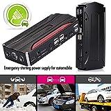 HKIASQ Jump Start Power Bank, 300A Pico de Corriente 9000mAh Portable Car Jump Starter 12V batería de Coche Starter Jump Starter con Linterna LED