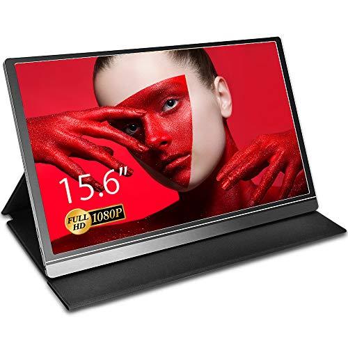 Aztine - Monitor portatile da 15,6
