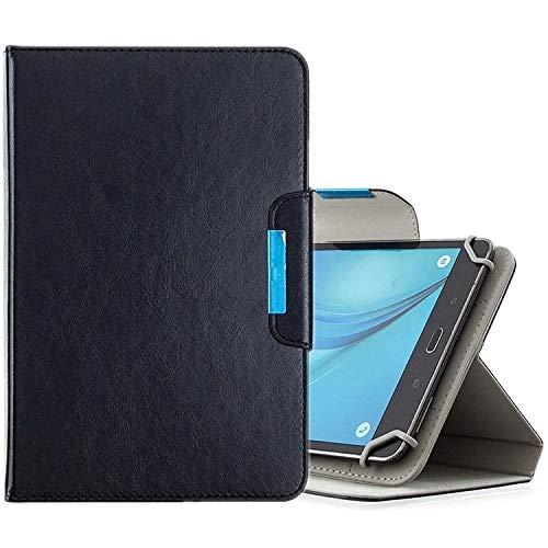Xyamzhnn HH-Étui pour tablettes de 10 Pouces Couleur Universelle Solide Couleur Horizontal Toam Coating avec Machines à sous Cartes et Portefeuille et Portefeuille (Color : Black)