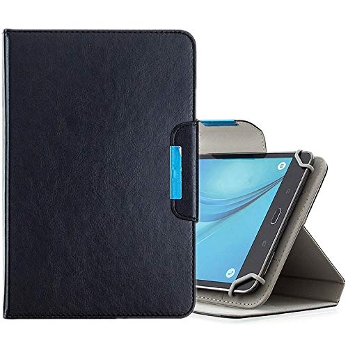 PHONETABLETCASE+ / tabletas de 8 Pulgadas Funda de Cuero Horizontal de Color Sólido Universal con Ranuras y Soporte Tarjeta y Billetera,Protección de la Cubierta de la Cubierta a Prueba