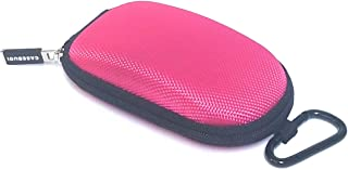 CASEBUDi Tough Travel Carrying Case for Apple Magic Mouse 1 and 2 | Hard Shell Ballistic Nylon (Pink)