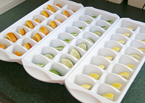 Sterilite Stackable Ice Cube Trays (Pack of 3)