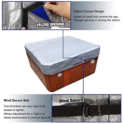 hot tub Cover Cap Prevent Snow rain