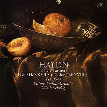 Haydn: Klavierkonzerte, Hob.XVIII:4 & 11