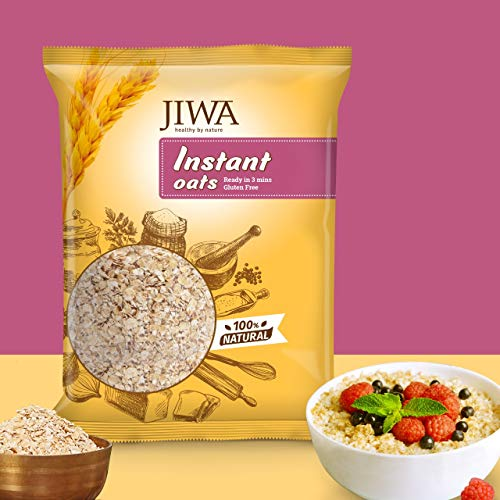 JIWA Healthy by Nature Jiwa Instant Oats, 750 Grams Pouch, 750 g
