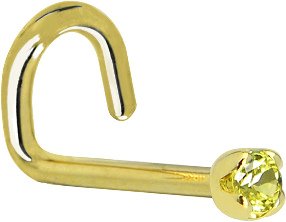 Body Candy Solid 14k Max 69% OFF Yellow Gold In stock 0.015 Yell Genuine 1.5mm cttw