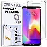 REY - Protector de Pantalla para Motorola Moto P30 - P30 Note - One Power, Cristal Vidrio Templado Premium