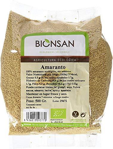 Bionsan Amaranto Ecológico en Grano   6 Bolsas de 500 gr  